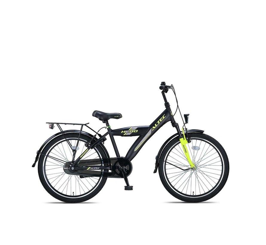 Altec Hero 24 inch Jongensfiets Lime Green 2020 Nieuw
