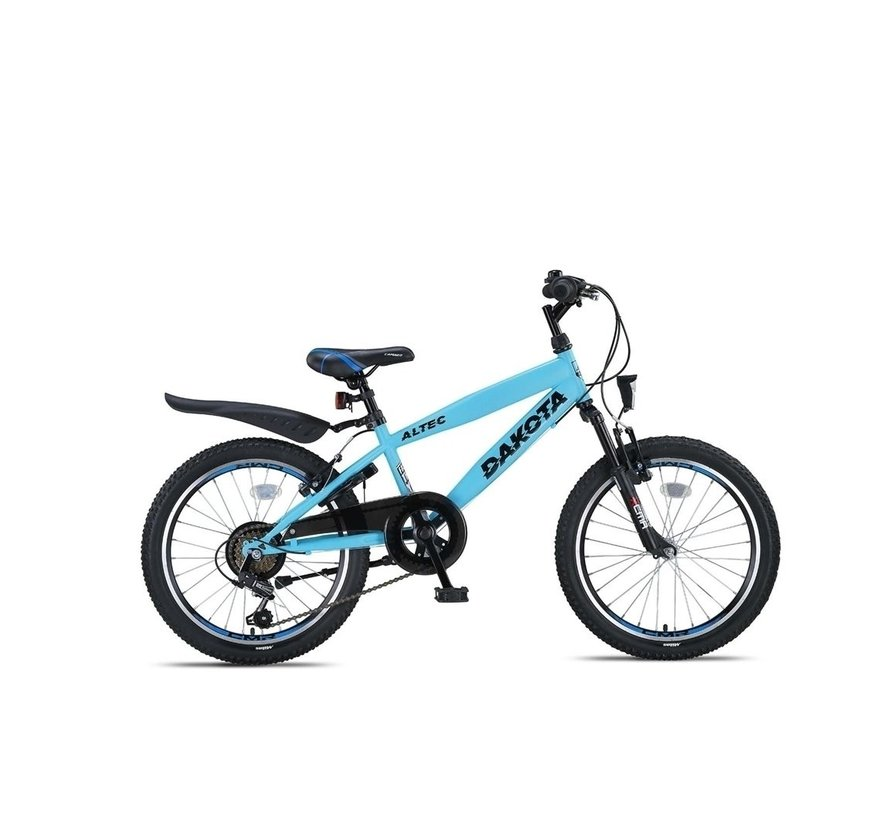 Altec Dakota 20inch Jongensfiets 7speed Neon Blue Nieuw RRRR