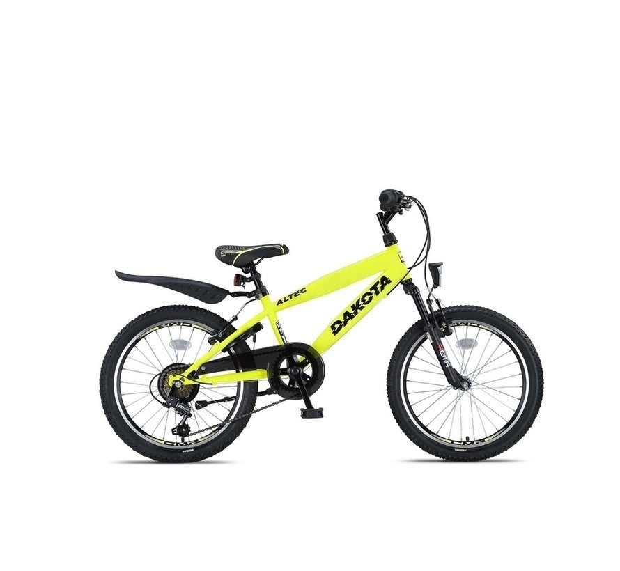 Altec Dakota 20inch Jongensfiets 7speed Neon Lime Nieuw RRRR
