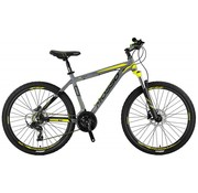 Mosso Wildfire 26 inch 20'' MTB LTD HYDR.Brakes Limited Edition Grey/Lime