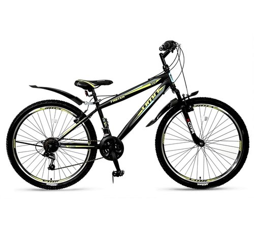 Umit Faster 26 inch MTB Black/Lime