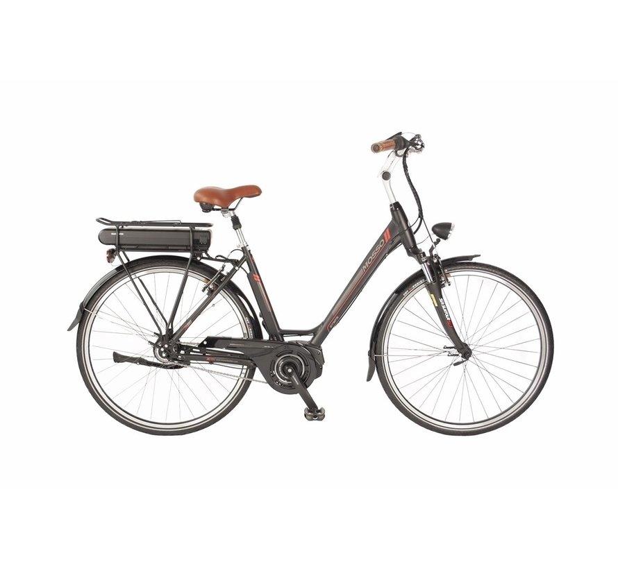 Mosso E bike Shimano Steps 420Wh N-8 Zwart-Rood *** ACTIE PRIJSVERLAGING***