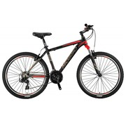 Mosso Wildfire 26 inch 20'' MTB V-Brakes Limited Edition Black/Red Nieuw
