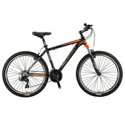 Mosso Wildfire 26 inch 18'' MTB V-Brakes Limited Edition Black/Orange Nieuw