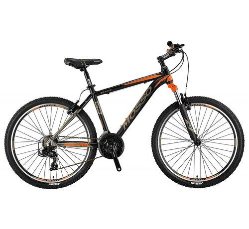 Mosso Wildfire 26 inch 18'' MTB V-Brakes Limited Edition Black/Orange Nieuw