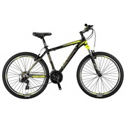 Mosso Wildfire 26 inch 18'' MTB V-Brakes Limited Edition Black/Lime Nieuw RRR