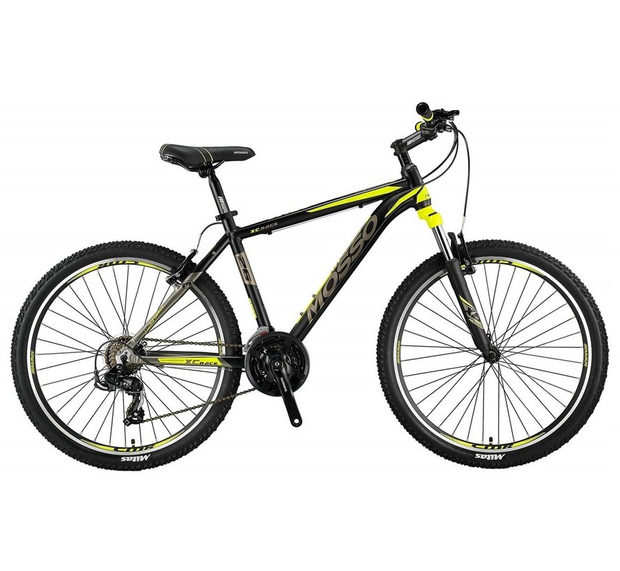 Mosso Wildfire 26 inch 18'' MTB V-Brakes Limited Edition Black/Lime Nieuw