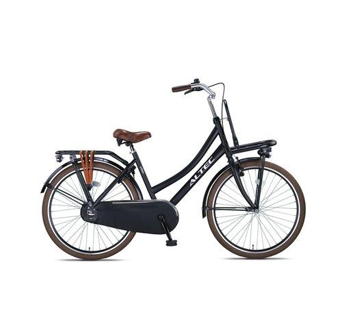 Altec Urban 26inch Transportfiets Zwart Nieuw 2020
