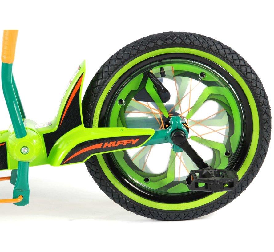 Huffy Green Machine - Jongens en Meisjes - 16 inch - Groen/Zwart