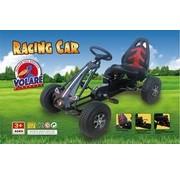 Volare Volare Go Kart Racing Car - Jongens - Groot - Luchtbanden - zwart