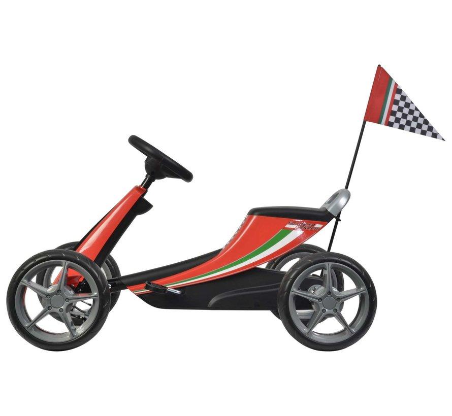 Scuderia Ferrari Go Kart - Klein  - Rood
