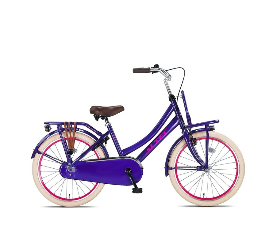 Altec Urban 22inch Transportfiets Purple Nieuw
