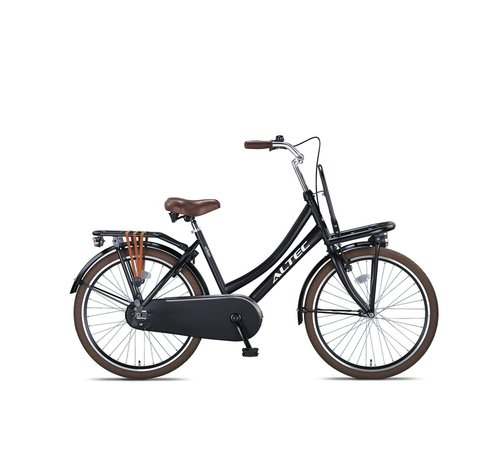 Altec Urban 24inch Transportfiets Zwart Nieuw 2020