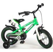 Kawasaki Kawasaki Kinderfiets - Jongens - 12 inch - Groen/Wit