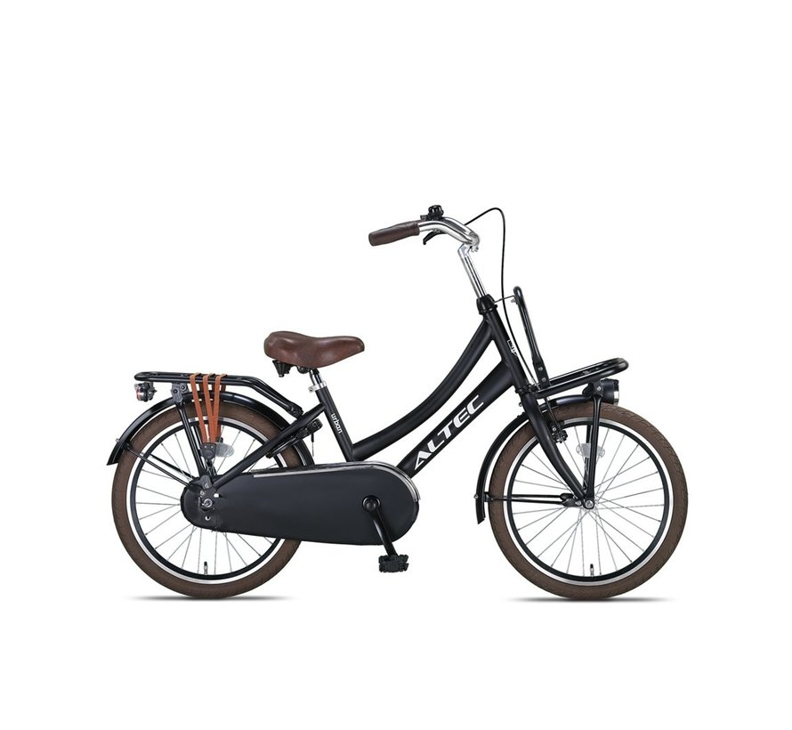 Altec Urban 20inch Transportfiets Zwart Nieuw 2020