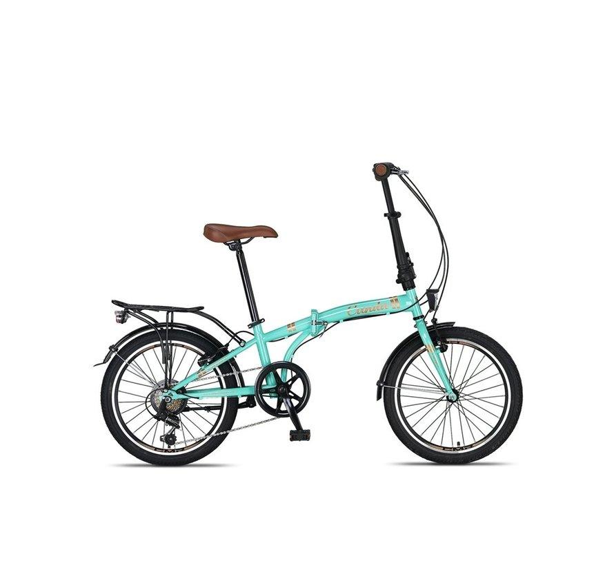 Umit Cunda Vouwfiets 20inch 6-speed Turquoise nieuw RRR