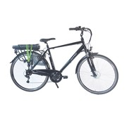 Altec City E-Bike Heren 480Wh Zwart 6-sp Nieuw