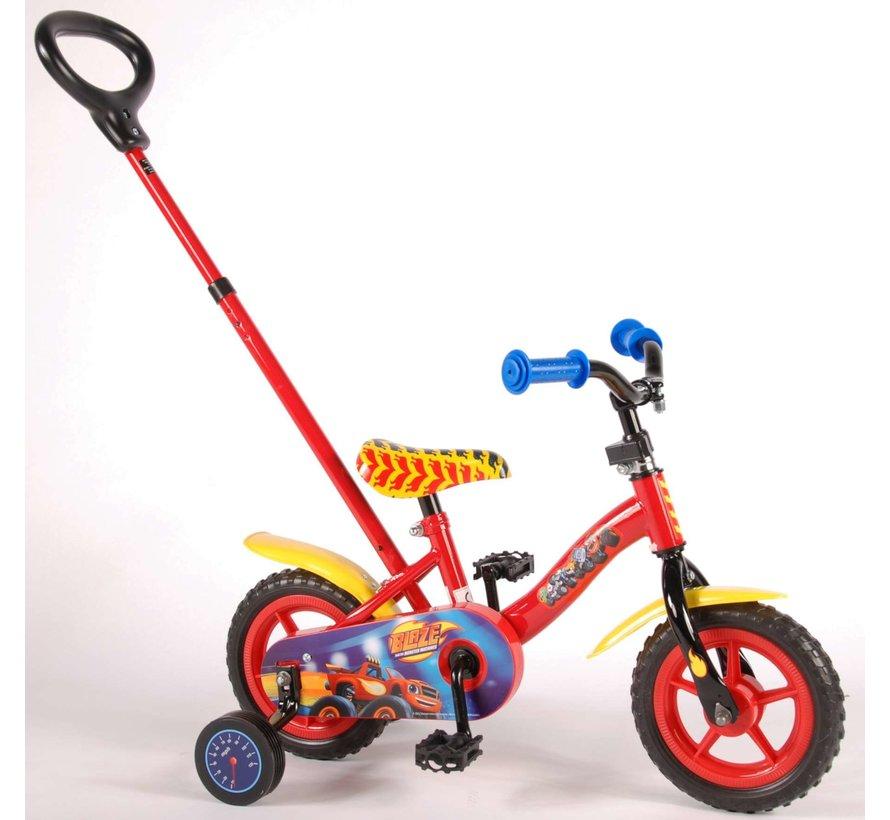 Blaze Kinderfiets - Jongens - 10 inch - Rood/Geel