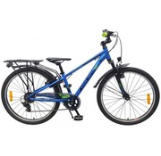 Volare Volare Cross Kinderfiets - Jongens - 24 inch - Blauw - 6 versnellingen - Prime Collection