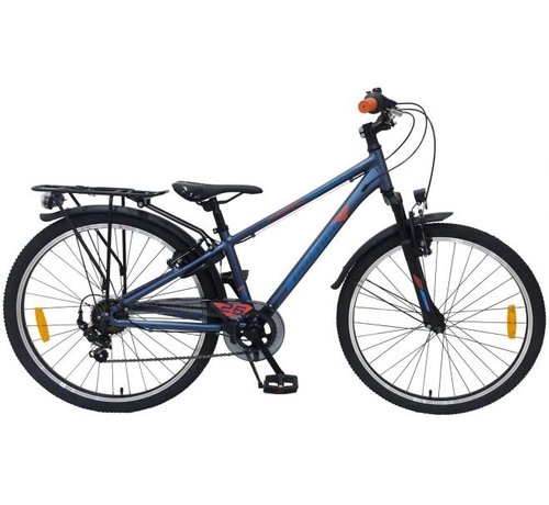 Volare Volare Cross Kinderfiets - Jongens - 26 inch - Donker Blauw - 7 versnellingen - Prime Collection