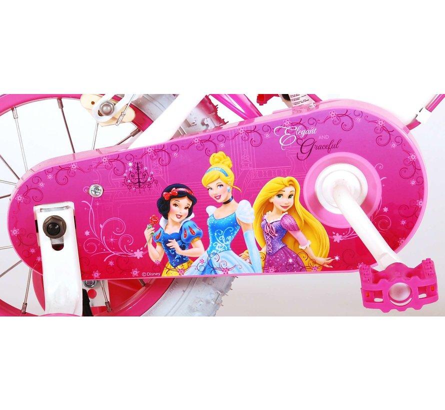 Disney Princess Kinderfiets - Meisjes - 12 inch - Roze - Twee handremmen