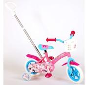 OJO OJO Kinderfiets - Meisjes - 10 inch - Roze/Blauw