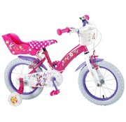 Disney Minnie Disney Minnie Bow-Tique Kinderfiets - Meisjes - 14 inch - Roze - twee handremmen