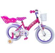 Disney Minnie Disney Minnie Bow-Tique Kinderfiets - Meisjes - 14 inch - Roze - 95% afgemonteerd
