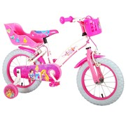 Disney Princess Disney Princess Kinderfiets - Meisjes - 14 inch - Roze - twee handremmen