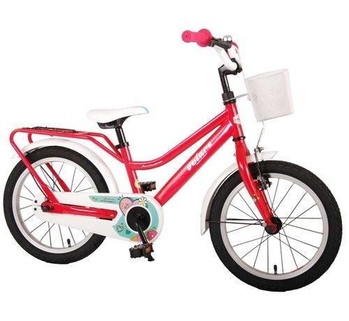 Volare Volare Brilliant Kinderfiets - Meisjes - 16 inch - Roze - 95% afgemonteerd