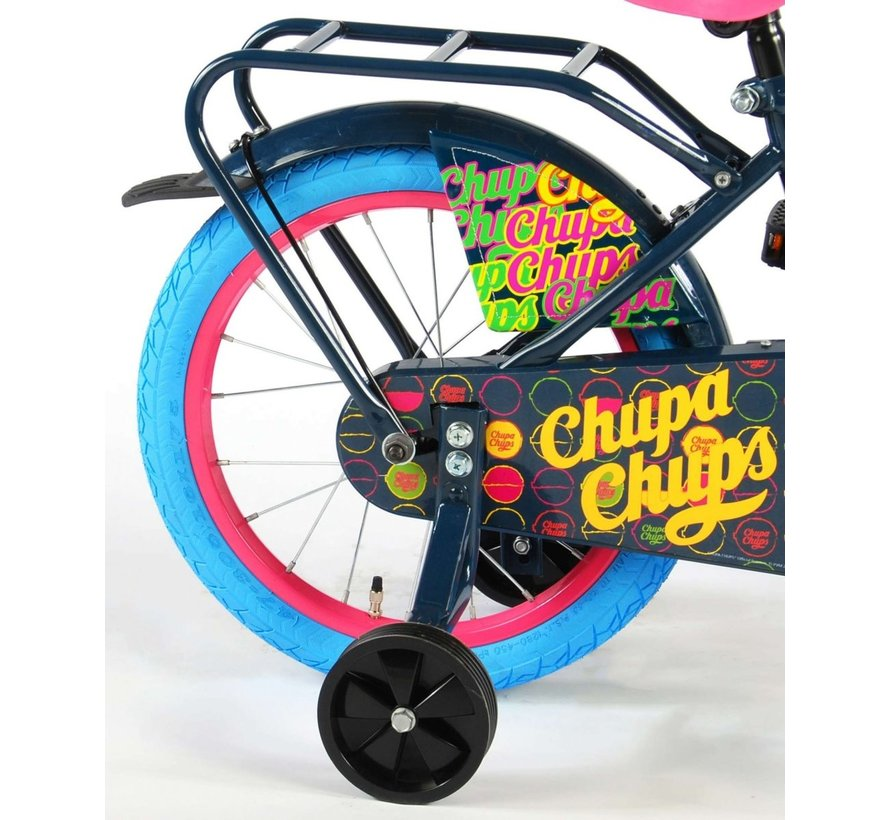 Chupa Chups Oma Kinderfiets - Meisjes - 16 inch - Donkerblauw