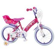Disney Minnie Disney Minnie Bow-Tique Kinderfiets - Meisjes - 16 inch - Roze - 2 handremmen