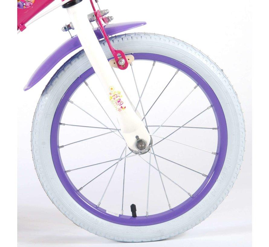 Disney Minnie Bow-Tique Kinderfiets - Meisjes - 16 inch - Roze - 2 handremmen