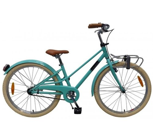 Volare Volare Melody Kinderfiets - Meisjes - 24 inch - Turquoise - Prime Collection