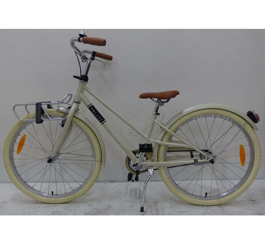 Volare Melody Kinderfiets - Meisjes - 24 inch - Zand - Prime Collection