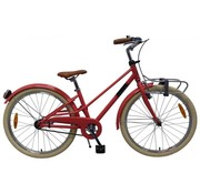 Volare Volare Melody Kinderfiets - Meisjes - 24 inch - Pastel Rood - Prime Collection