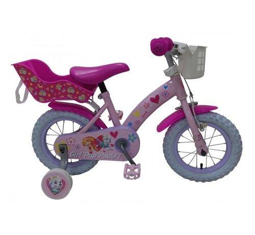 Paw Patrol Paw Patrol Kinderfiets - Meisjes - 12 inch - Roze