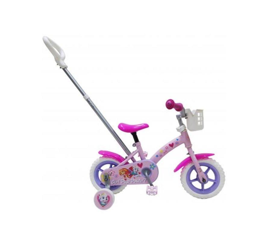 Paw Patrol Kinderfiets - Meisjes - 10 inch - Roze