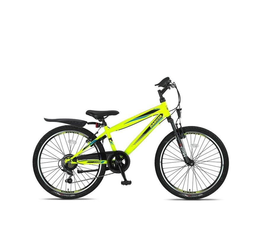 Altec Dakota 24inch Jongensfiets 7speed 2021 Neon Lime Nieuw -RRR-