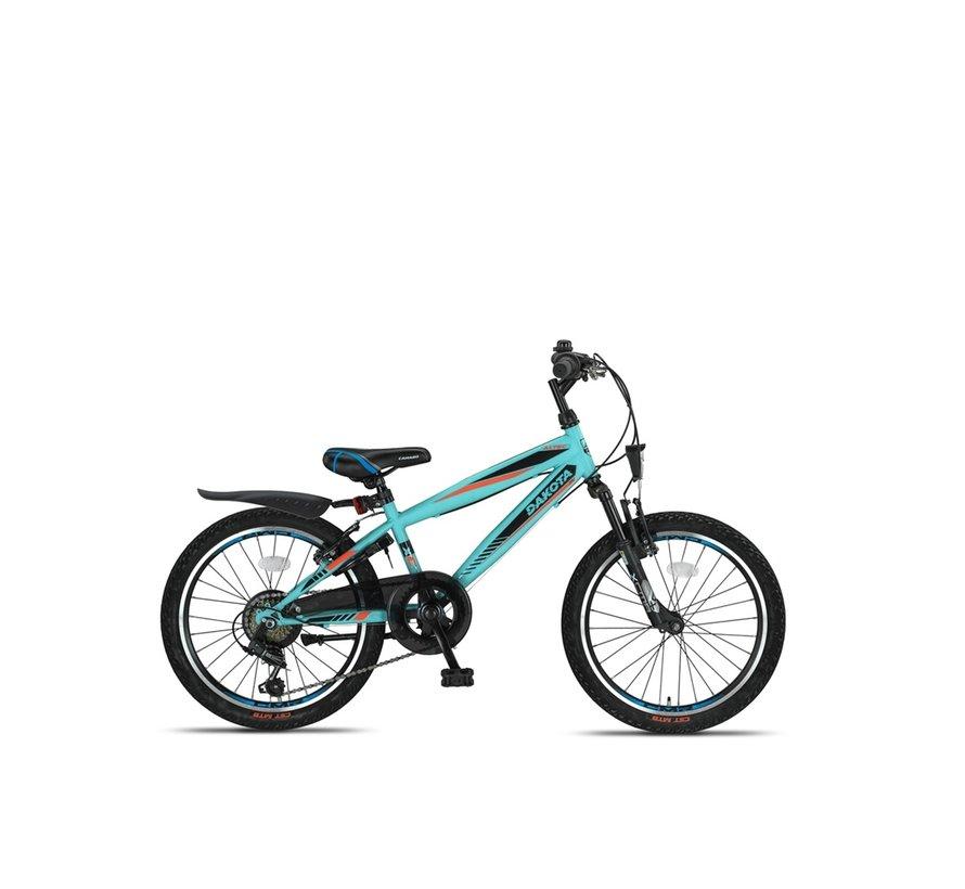 Altec Dakota 20inch Jongensfiets 7speed 2021 Neon Blue Nieuw RRR