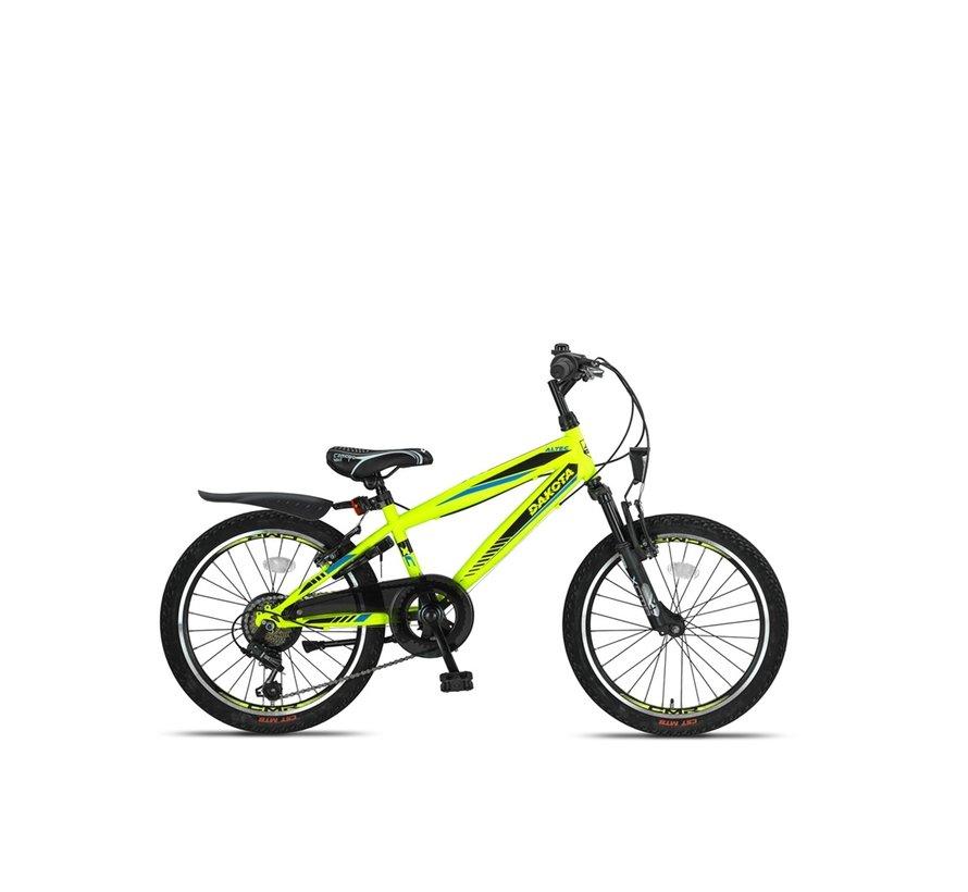 Altec Dakota 20inch Jongensfiets 7speed 2021 Neon Lime Nieuw RRR