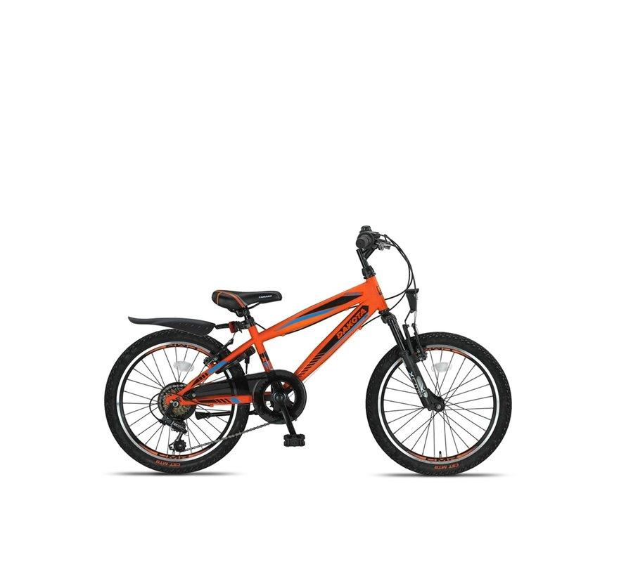 Altec Dakota 20inch Jongensfiets 7speed 2021 Neon Orange Nieuw