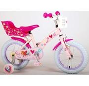 Paw Patrol Paw Patrol Kinderfiets - Meisjes - 14 inch - Roze
