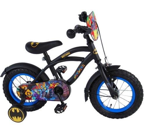 Batman Batman Kinderfiets - Jongens - 12 inch - Zwart