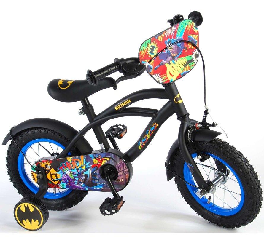 Batman Kinderfiets - Jongens - 12 inch - Zwart