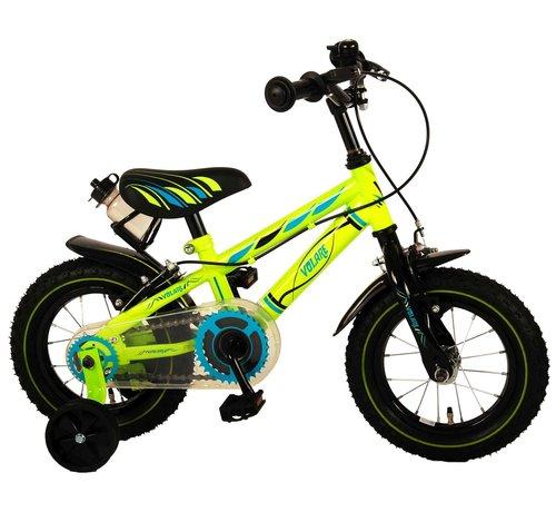 Volare Volare Electric Green Kinderfiets - Jongens - 12 inch - Groen - Twee handremmen