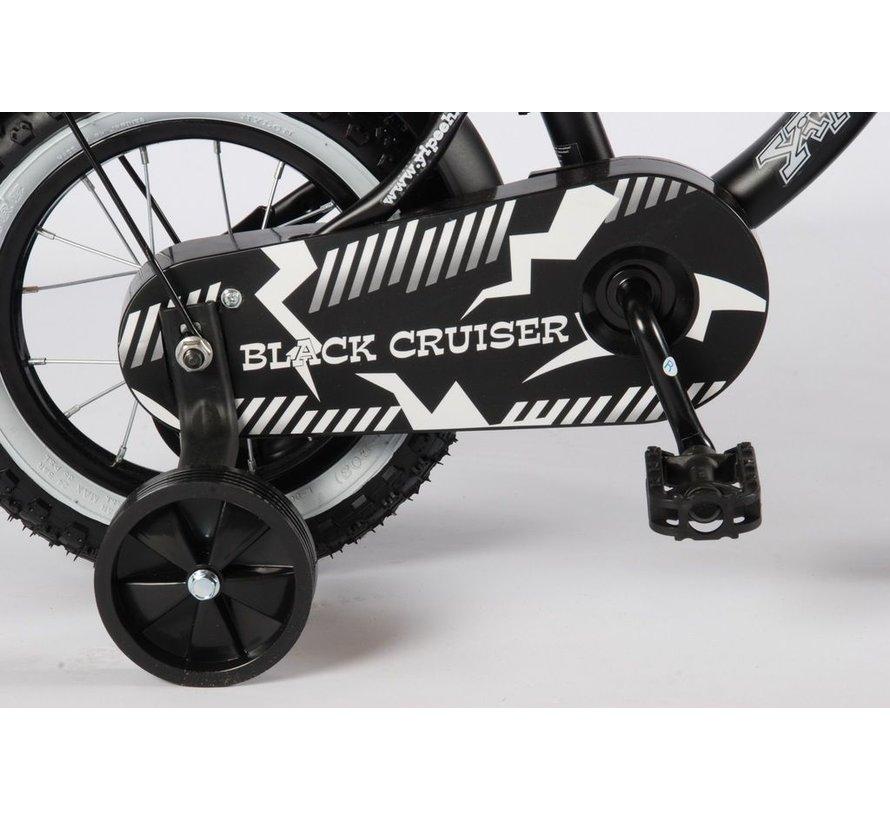 Volare Black Cruiser Kinderfiets - Jongens - 12 inch - Zwart
