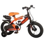 Volare Volare Sportivo Kinderfiets - Jongens - 12 inch - Neon Oranje Zwart - 95% afgemonteerd