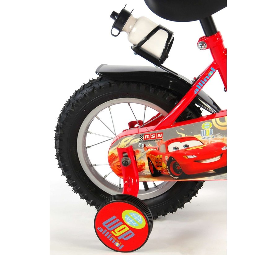 Disney Cars Kinderfiets - Jongens - 12 inch - Rood