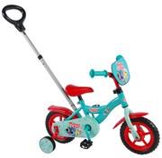 Woezel en Pip Woezel & Pip Kinderfiets  - 10 inch - Blauw/Rood